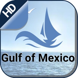 Gulf of Mexico offline nautical charts for fishing
