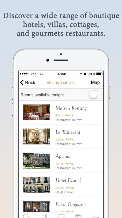 Relais & Châteaux: Luxury Hotels and Restaurants screenshot-3