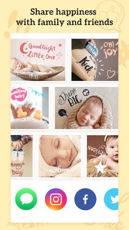 Baby Photos – Pregnancy Pic Maker & Baby Milestone screenshot-4