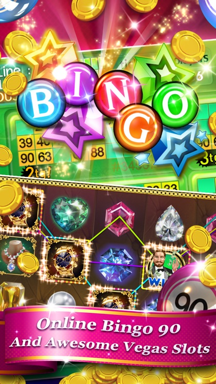 Bingo 90 Live + Slots & Poker screenshot-2