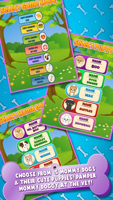 download Newborn Puppy Baby & Mommy Dog Pregnancy Pets Game apps 3