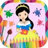 Princesas para pintar - libro pintar y colorear