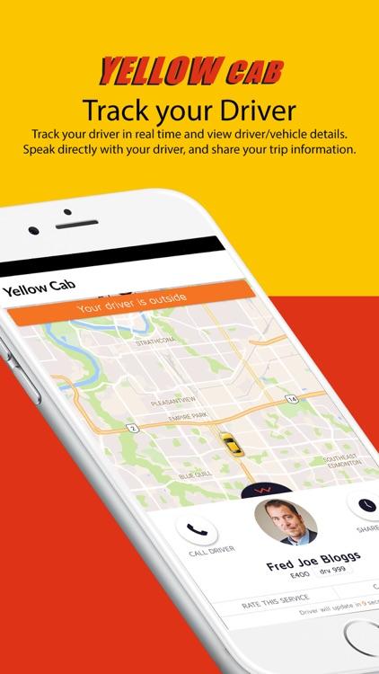 Greater Edmonton Yellow Cab screenshot-3