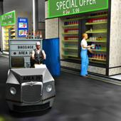 Drive Thru Supermarket 3D - Cargo Delivery Truck