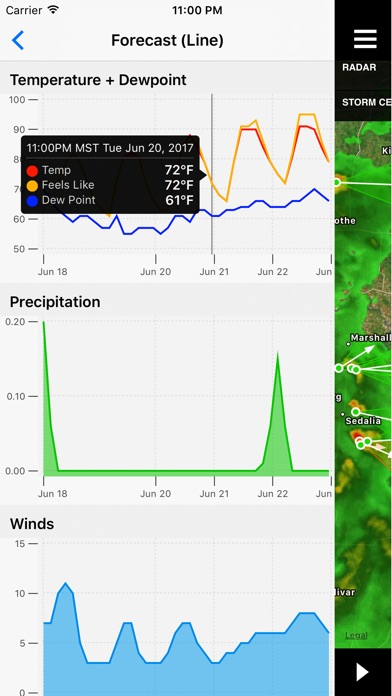 Noaa Weather Center review screenshots