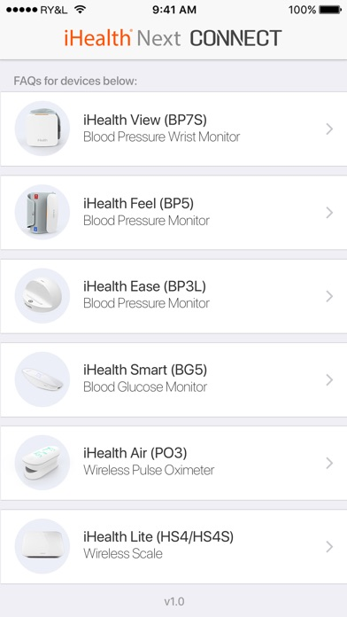 Connect App for iHealth Next Screenshot on iOS