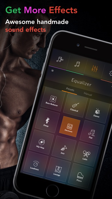 Equalizer + Volume Booster player&sound effects eq - AppRecs