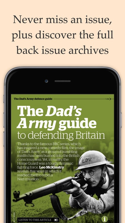 BBC History Magazine - Britain's Guide to the Past app image