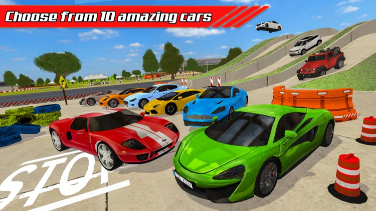 Car Trials: Crash Course Driver screenshot-4