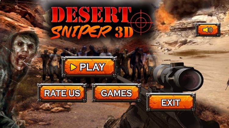 Desert Sniper Range-Zombies Clash at dead zone