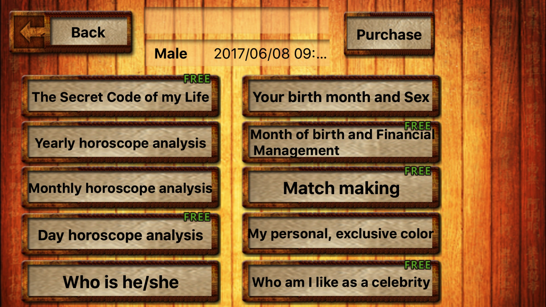Fortune Telling Screenshot