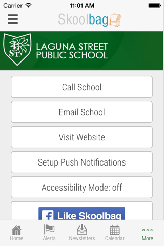 Laguna Street Public School - Skoolbag - náhled