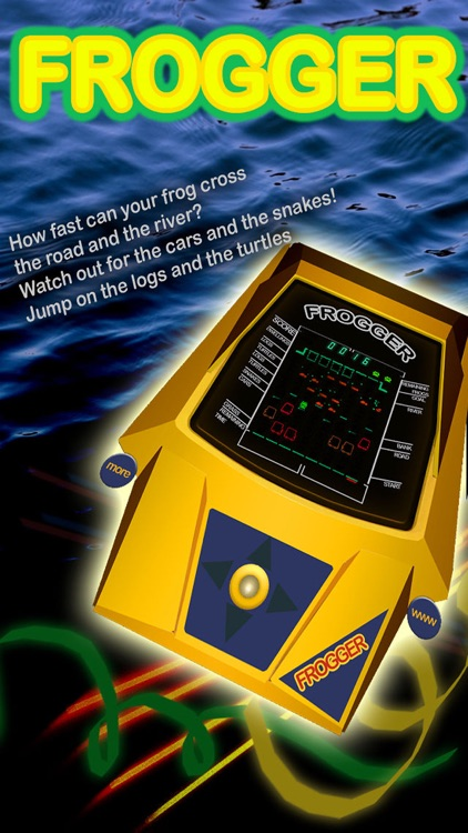 Frogger-top: The Tabletop Classic!