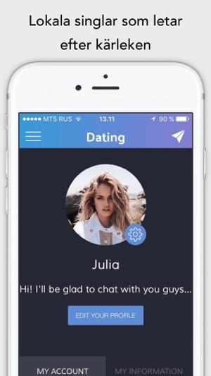 chatta med lokala singlar online gratis