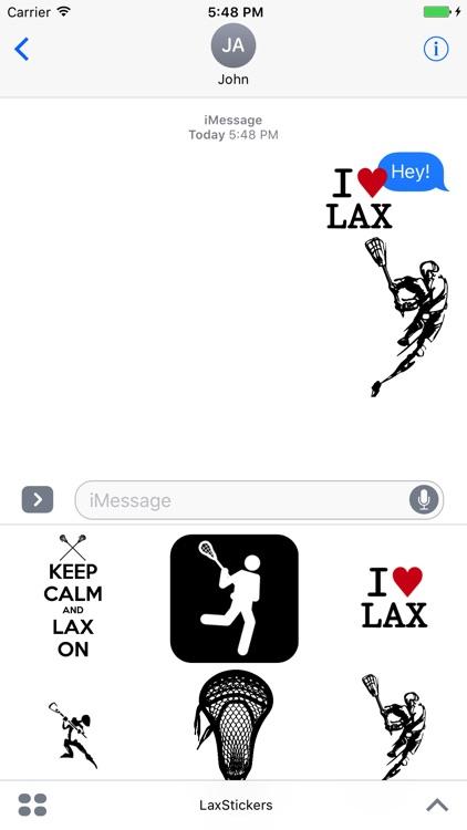Lax Stickers
