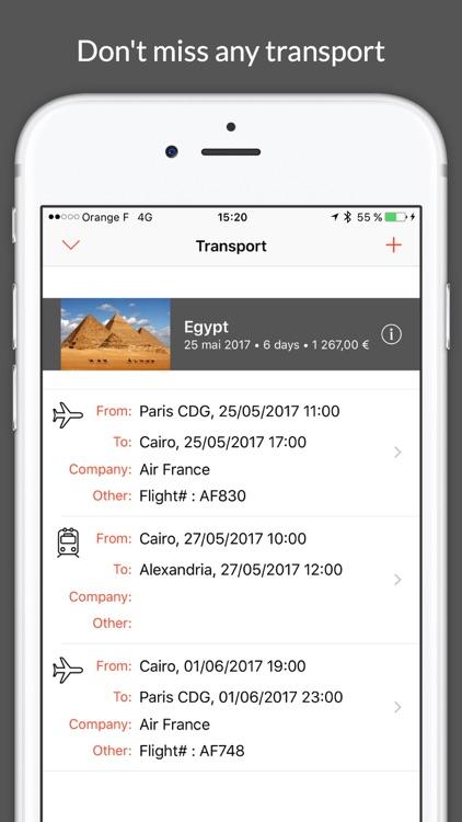 My Trip Planner screenshot-3