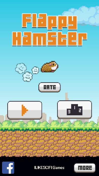Flappy Hamster screenshot one