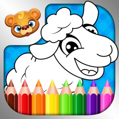 123 Kids Fun COLORING BOOK Best PaintDraw Games 4