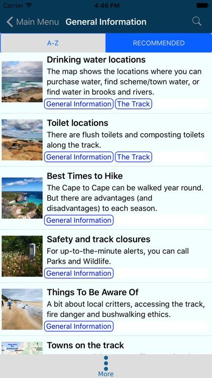 Cape to Cape Track Guide screenshot-4