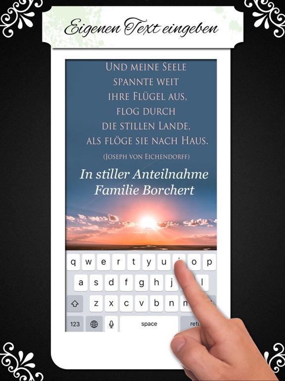Trauerkarten Beileidskarten Kondolenzkarten TRAUER screenshot 8