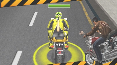 Bike Attack: Crazy Moto Racing screenshot one