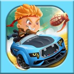 赛车竞技游戏-疯狂撞击