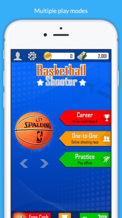 Basketball Shooter Stars screenshot 1