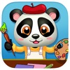 Baby Panda Paintbox - Coloring Games for Kids!