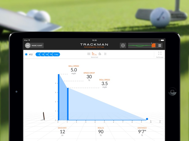 TrackMan Performance Putting