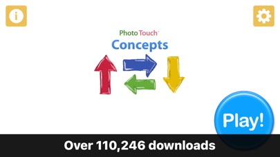 Kids Learning - Photo Touch Concepts Screenshot on iOS
