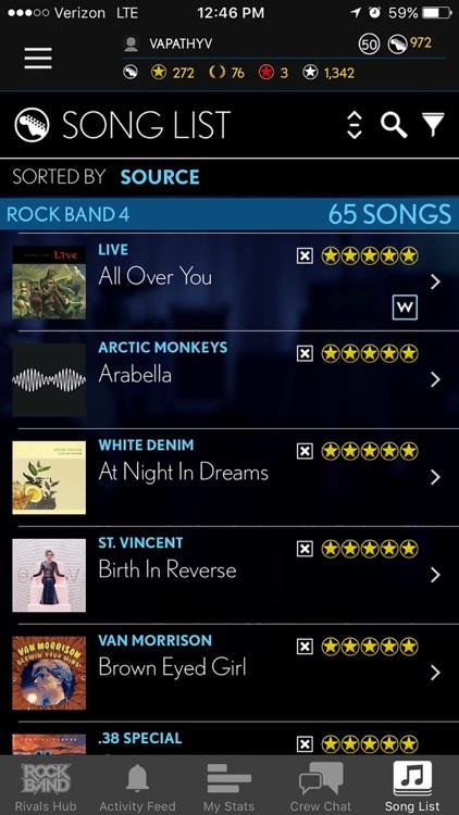 Rock Band Companion