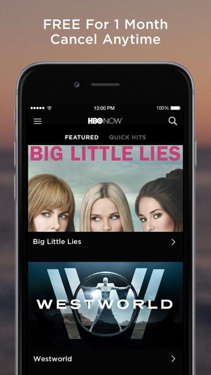 HBO NOW: Stream original series, hit movies & more screenshot-4