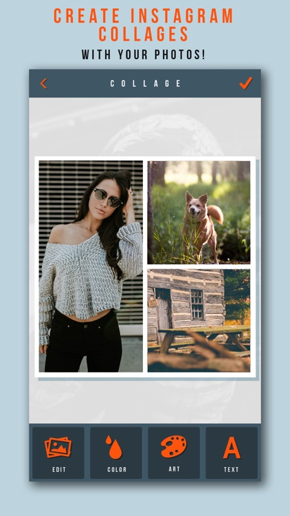 Photo Collage+ Create Picture Grids for Instagram