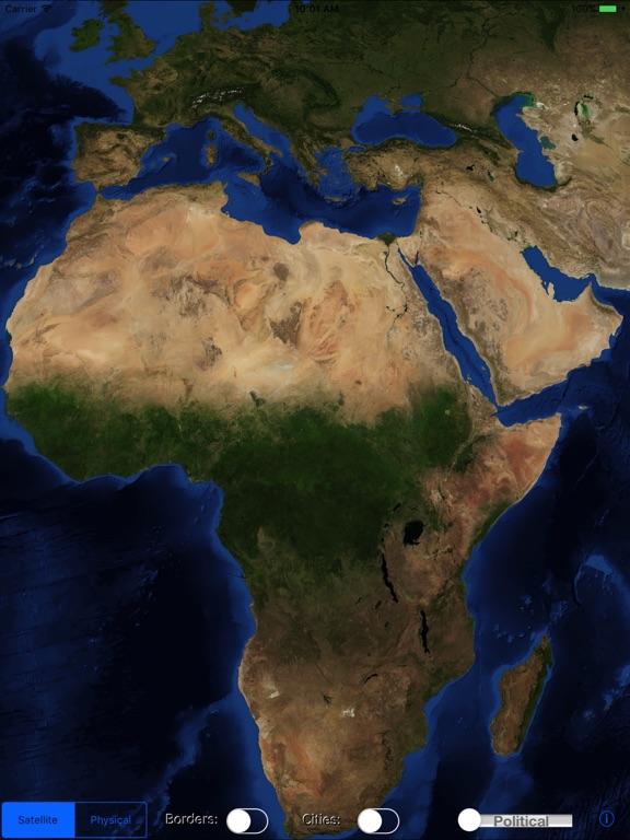 World Map Explorerのおすすめ画像4