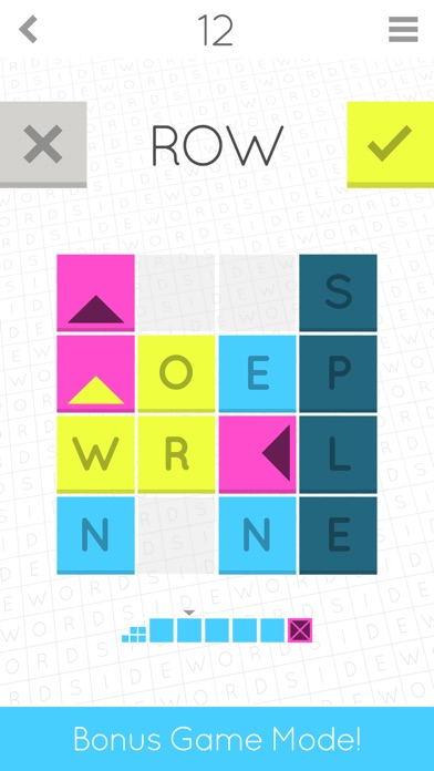 Sidewords screenshot1