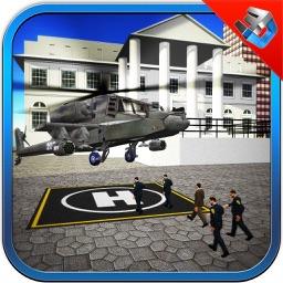 President Helicopter Flight & 3D Flying Simulator