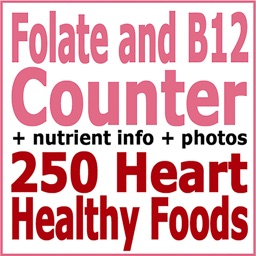 Folate and B12 Counter & Tracker for Healthy Diets