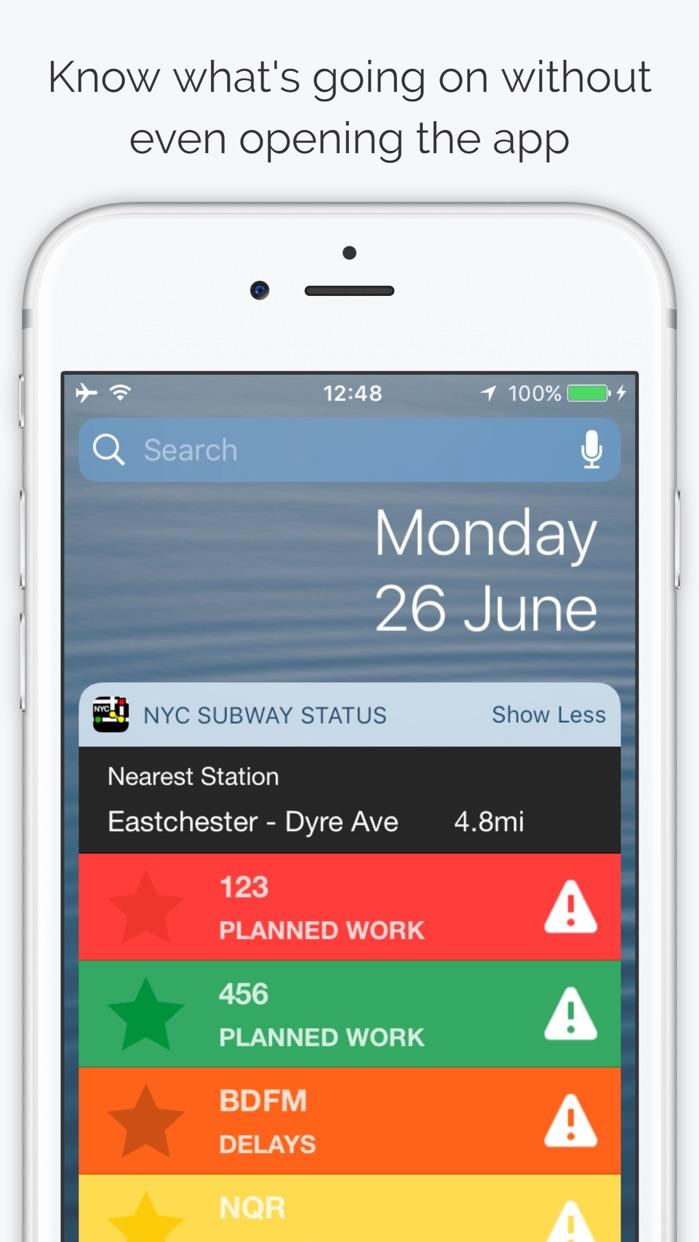 New York City Subway Map Screenshot