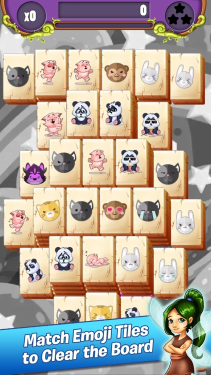 Emoji Mahjong Adventure screenshot-0