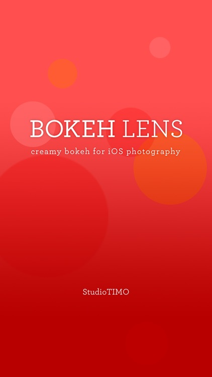 Bokeh Lens screenshot-1