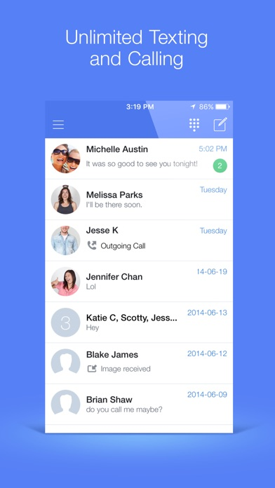 download TextNow apps 3