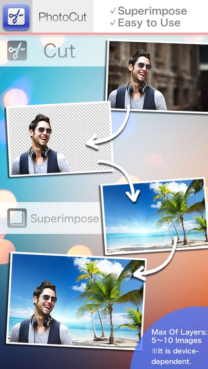 PhotoCut-Superimpose & Eraser screenshot-0