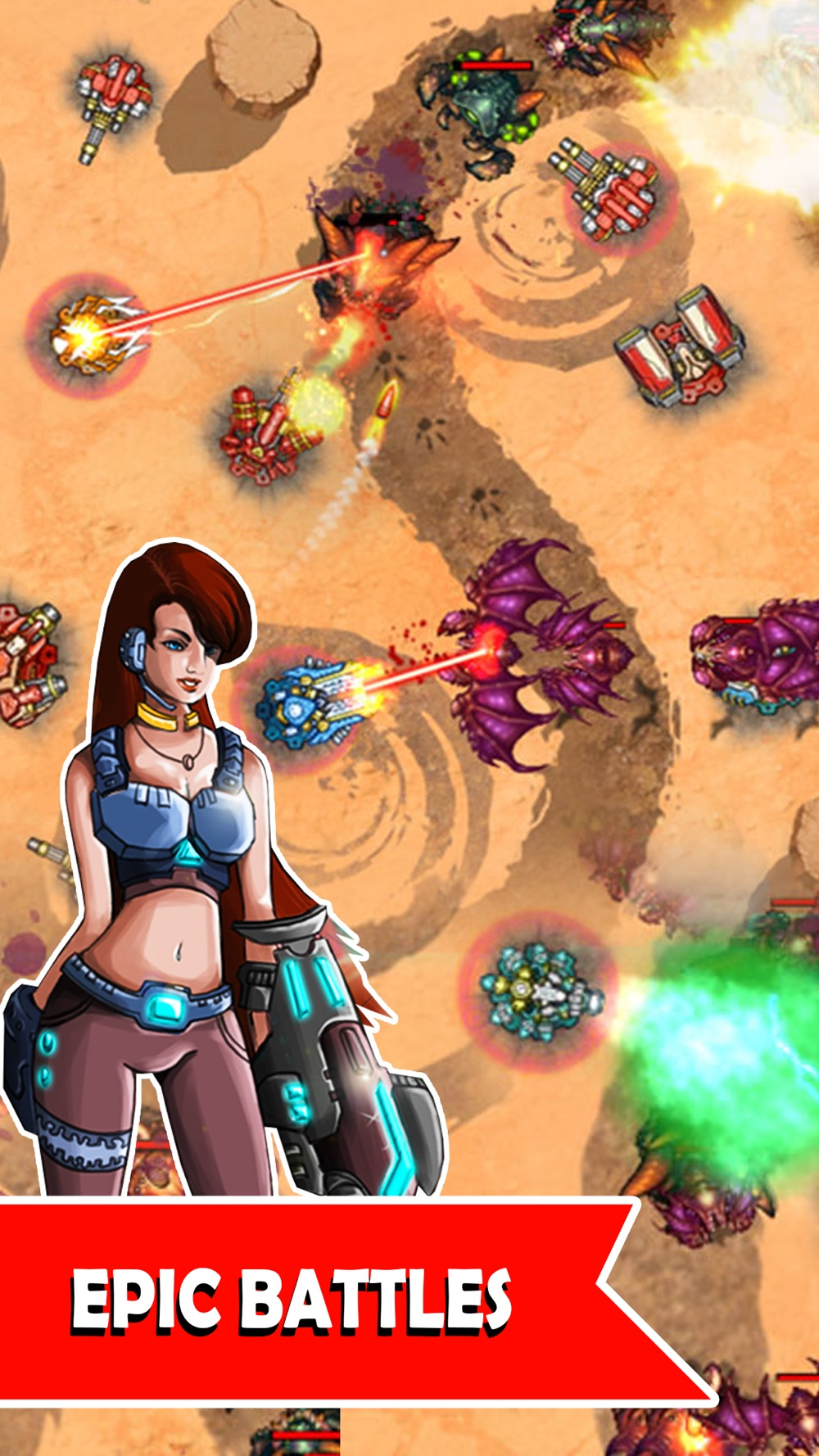 Tower Defense Zone - Strategy Defense game hack tool