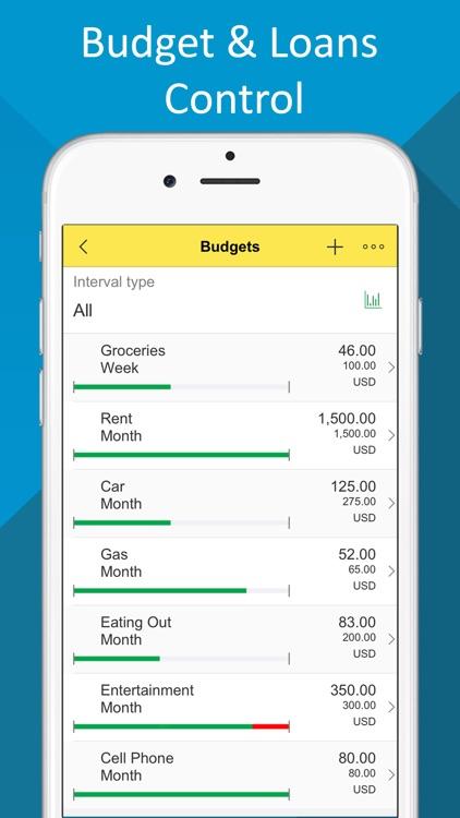 Budget- Expense Tracker,Bill Reminder,Debt Manager screenshot-3