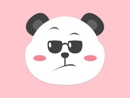 Panda Emoji Stickers for iMessage