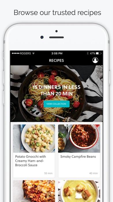Today's Parent Mealtime app image