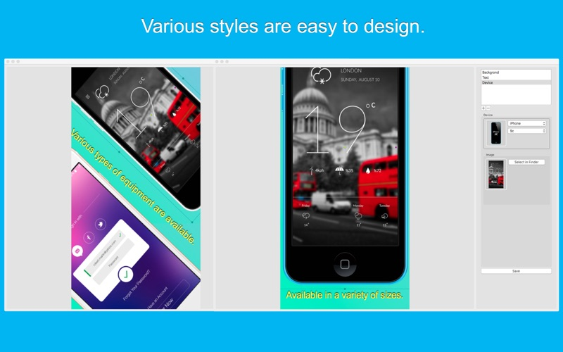 Screenshot Design-Great App Mockup Generator Screenshot