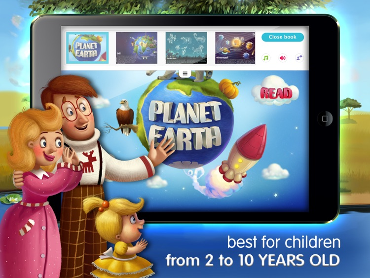 KidBook Interactive Books for Kids Bedtime Stories screenshot-3