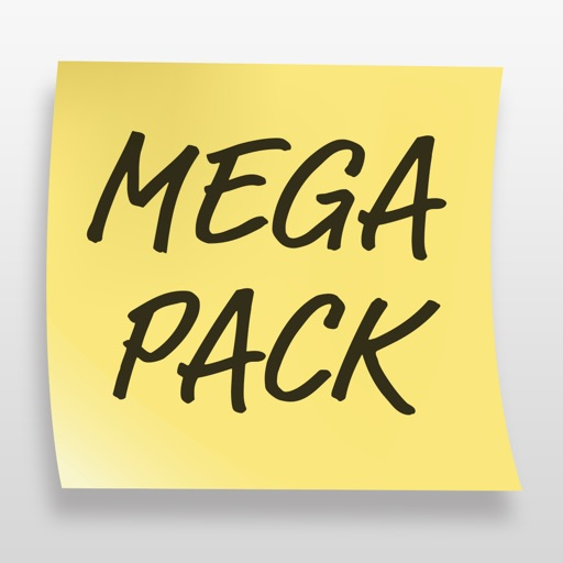 Post It Stickers Mega Pack