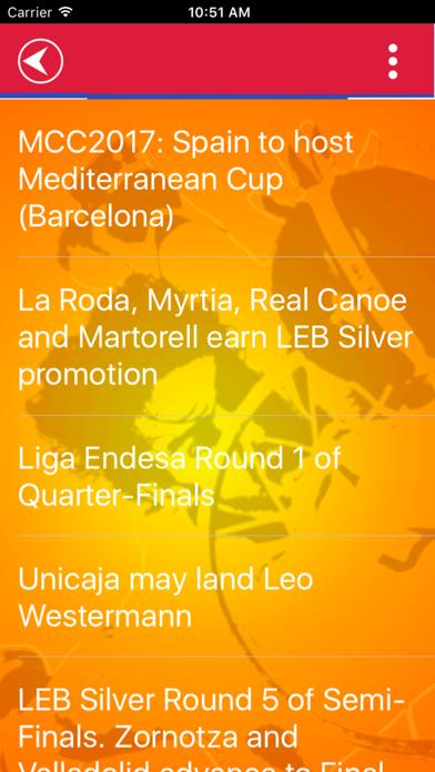 Spanish Basketball Team screenshot 4